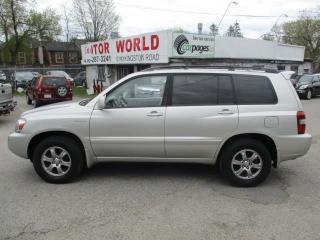 Used 2005 Toyota Highlander LTD for sale in Scarborough, ON
