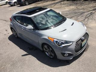 Used 2013 Hyundai Veloster Turbo w/Matte Grey for sale in Perth, ON