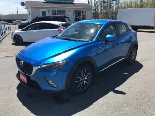 Used 2016 Mazda CX-3 GT for sale in Cornwall, ON