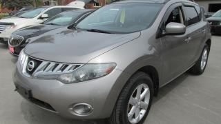 Used 2009 Nissan Murano AWD, Panoramic roof, New Radials for sale in Chatsworth, ON