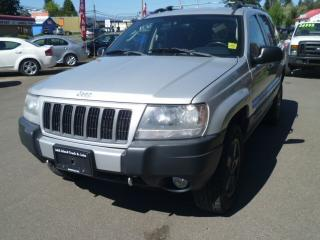 Used 2004 Jeep Grand Cherokee Laredo for sale in Parksville, BC