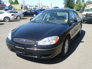Used 2007 Ford Taurus SEL for sale in Parksville, BC