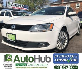 Used 2011 Volkswagen Jetta COMFORTLINE-LEATHER-SUNROOF-HEATED SEATS for sale in Hamilton, ON