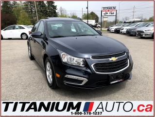 Used 2016 Chevrolet Cruze 2-LT+Camera+Sunroof+Leather Heated Power Seats+ for sale in London, ON