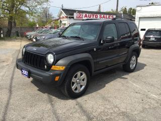 Used 2007 Jeep Liberty Sport/Automatic/Sunroof/4x4/Certified for sale in Scarborough, ON