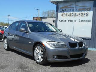 Used 2011 BMW 3 Series ***CUIR,TOIT OUVRANT,MAGS*** for sale in Longueuil, QC
