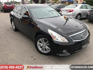 Used 2011 Infiniti G37 X Premuim | LEATHER | ROOF | AWD | CAM for sale in London, ON