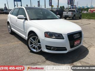 Used 2012 Audi A3 2.0T Progressiv LEATHER | ROOF for sale in London, ON