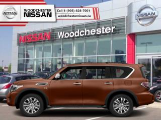 New 2018 Nissan Armada 4x4 Platinum  - Navigation - $476.23 B/W for sale in Mississauga, ON
