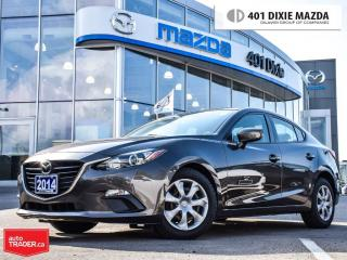 Used 2014 Mazda MAZDA3 GX-SKY,NO ACCIDENTS, 0.9%FINANCE AVAILABLE for sale in Mississauga, ON