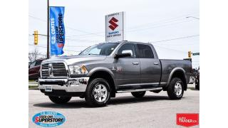 Used 2011 RAM 3500 Laramie Crew 4x4 Diesel ~Nav ~Backup Cam ~Leather for sale in Barrie, ON