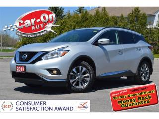 Used 2017 Nissan Murano SV PANO ROOF NAV REAR CAM HTD SEATS LOADED for sale in Ottawa, ON