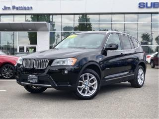 Used 2014 BMW X3 xDrive28i - 56,000 Kms for sale in Port Coquitlam, BC
