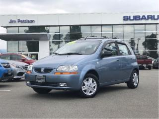 Used 2007 Pontiac Wave5 SE - 110,000 Kms for sale in Port Coquitlam, BC
