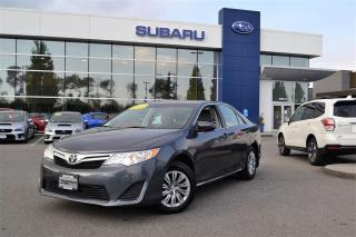 Used 2014 Toyota Camry LE - Factory Warranty for sale in Port Coquitlam, BC