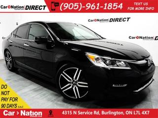 Used 2016 Honda Accord Sport| LEATHER| SUNROOF| BACK UP CAMERA| for sale in Burlington, ON