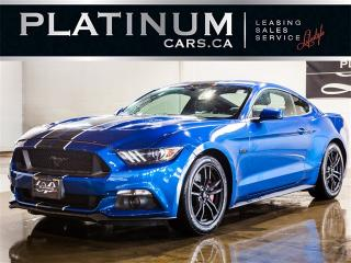 Used 2017 Ford Mustang GT 5.0 PREMIUM, NAVI, CAM, HEATED COOLED SEATS for sale in North York, ON
