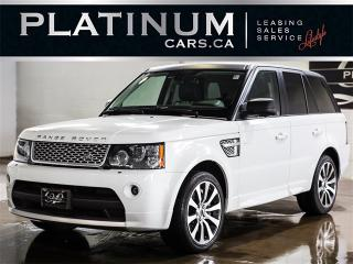 Used 2012 Land Rover Range Rover Sport AUTOBIOGRAPHY, V8 SUPERCHARGED, NAVI, CAM for sale in Toronto, ON
