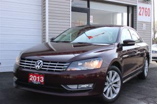 Used 2013 Volkswagen Passat 2.0 TDI Highline. Navi.Camera. Leather. Roof for sale in North York, ON