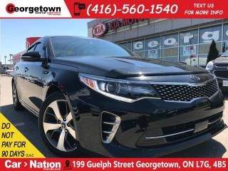 Used 2016 Kia Optima SXL | NAVIGATION | TOP OF THE LINE | for sale in Georgetown, ON