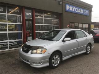 Used 2006 Toyota Corolla Sport for sale in Kitchener, ON