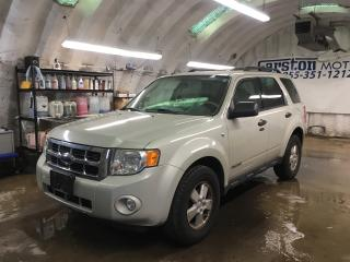 Used 2008 Ford Escape XLT*V6*FWD*******AS IS SALE*******KEYLESS ENTRY*CLIMATE CONTROL*CRUISE CONTROL*TRACTION CONTROL*ALLOYS*POWER WINDOWS/LOCKS/MIRRORS*FOG LIGHTS* for sale in Cambridge, ON