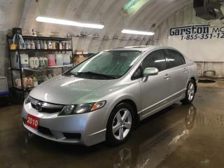 Used 2010 Honda Civic SPORT*POWER SUNROOF*ALLOYS*KEYLESS ENTRY*POWER WINDOWS/LOCKS/HEATED MIRRORS* for sale in Cambridge, ON