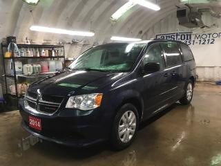 Used 2014 Dodge Grand Caravan SXT*DUAL ROW STOW N GO*POWER 3rd ROW VENTILATING WINDOWS*POWER MID ROW WINDOWS*TRI ZONE CLIMATE CONTROL w/REAR AIR CONTROL*ECON MODE*KEYLESS ENTRY* for sale in Cambridge, ON