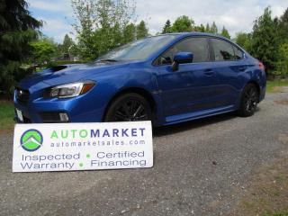 Used 2015 Subaru WRX LIMITED, SPORT-TECH, PRISTINE, WARRANTY for sale in Surrey, BC
