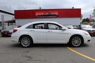 Used 2013 Chrysler 200-Series 4dr Sdn Limited for sale in Surrey, BC