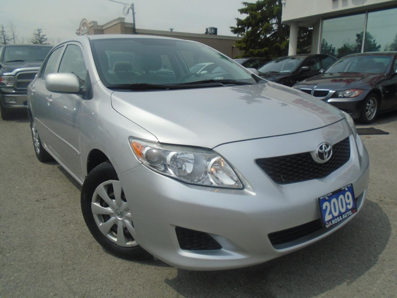2009 Toyota Corolla AUTO LOW KM 1 OWNER PW PL PM CRUISE SAFETY KEYLESS