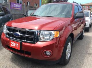 Used 2011 Ford Escape XLT/4Cyl/AUX/Fog Light/Alloys for sale in Scarborough, ON