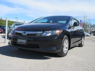 Used 2012 Honda Civic LX / AUTO / ONE OWNER / ACCIDENT FREE for sale in Newmarket, ON