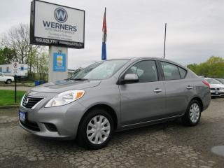Used 2014 Nissan Versa SV for sale in Cambridge, ON