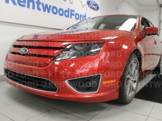 Used 2011 Ford Fusion SEL, sunroof, power heated leather seats and keyless entry for sale in Edmonton, AB