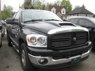 Used 2008 Dodge Ram 1500 SLT Big Horn 4x4 5.7L Hemi 8cyl Quad Cab AC PL PW for sale in Ottawa, ON