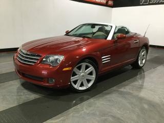 Used 2005 Chrysler Crossfire LIMITED-CUIR-DECAPOTABLE for sale in Carignan, QC