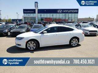 Used 2015 Chrysler 200 LIMITED/BACKUP CAM/BLUETOOTH/LARGE TOUCH SCREEN for sale in Edmonton, AB