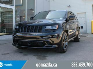 Used 2014 Jeep Grand Cherokee SRT PANO ROOF NAV LEATHER LANE DEPARTURE for sale in Edmonton, AB