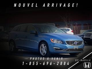 Used 2015 Volvo V60 T5 AWD + TRÈS BAS KILOS + ENS. CLIMAT + for sale in St-Basile-le-Grand, QC