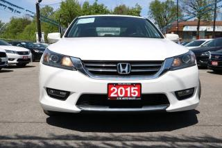 Used 2015 Honda Accord EX-L LEATHER SUNROOF ACCIDENT FREE for sale in Brampton, ON