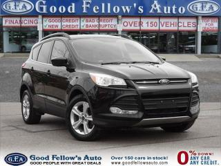 Used 2016 Ford Escape SE MODEL, 4WD, POWER LIFTGATE, LEATHER SEATS, NAV for sale in North York, ON