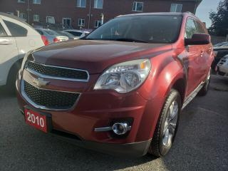 Used 2010 Chevrolet Equinox 1LT/Bluetooth/USB/AUX/Alloys/Fog Light for sale in Scarborough, ON