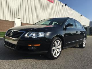Used 2010 Volkswagen Passat 2.0T- 6 Speed Manual Touring Package for sale in Mississauga, ON