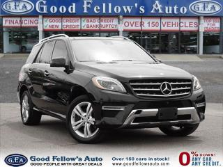 Used 2015 Mercedes-Benz ML 350 DIESEL MODEL, AWD, NAVIGATION, PANORAMA ROOF for sale in North York, ON