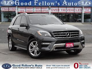 Used 2015 Mercedes-Benz ML 350 DIESEL MODEL, AWD, NAVIGATION, POWER MOONROOF for sale in North York, ON