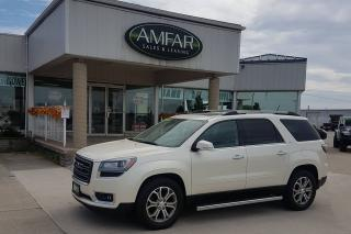 Used 2015 GMC Acadia SLT / LEATHER / AWD / NO PAYMENTS FOR 6 MONTHS !!! for sale in Tilbury, ON