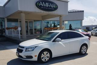 Used 2016 Chevrolet Cruze LT / REMOTE START / NO PAYMENTS FOR 6 MONTHS !! for sale in Tilbury, ON