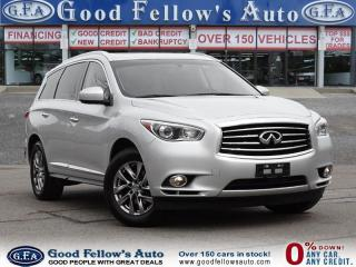 Used 2014 Infiniti QX60 7 PASSENGER,LEATHER SEATS, SUNROOF, FWD, 6CYL 3.5L for sale in North York, ON