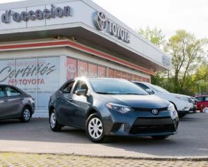 Used 2014 Toyota Corolla CE for sale in Pointe-claire, QC